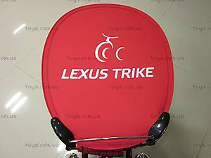 Велосипед детский трехколесный EVA красно-черный, KR01, купить