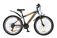 """Велосипед Discovery TREK 2018 черно-оранжево-синий 26"""" , OPS-DIS-26-111, цена"""