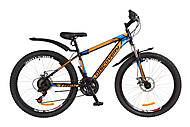 "Велосипед Discovery TREK DD 2018 черно-оранжево-синий 26"" , OPS-DIS-26-133, купить"