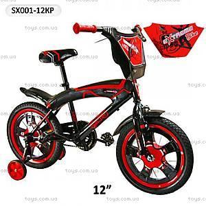 Велосипед двухколесный красный, SX-001-12КР
