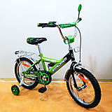 "Велосипед EXPLORER 16"" green + black (T-21619), T-21619, фото"