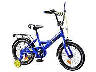 """Детский велосипед 16 дюймов """"EXPLORER"""", синий, T-216111"""