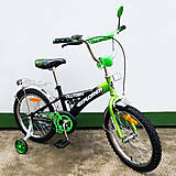 """Велосипед EXPLORER 18"""" black + green (T-21816), T-21816, отзывы"""