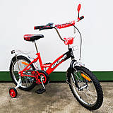 "Велосипед EXPLORER 18"" red + black (T-21817), T-21817"