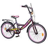 Велосипед EXPLORER 20 дюймов (фиолетово-розовый), T-220116, фото