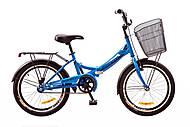 Велосипед Formula Smart 13 20 2017 с корзиной Blue (OPS-FR-20-026), OPS-FR-20-026, игрушка