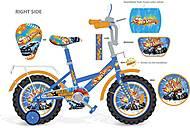 Велосипед голубой Хот Вилс 18'', 181809, отзывы