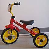Велосипед «Комби» красный, BT-CT-0009 RE, фото