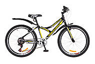 """Велосипед подростковый Discovery FLINT 2018 черно-желтый 24"""" , OPS-DIS-24-086"""