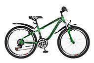 """Велосипед подростковый Discovery FLINT AM 2018 зелено-черный 24"""", OPS-DIS-24-091, тойс ком юа"""