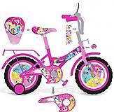 Велосипед  с картинками Пони: зеркало, тормоз, звонок, 181820, отзывы