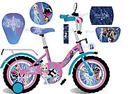 Велосипед серии «Холодное сердце» (розово-голубой), 181824