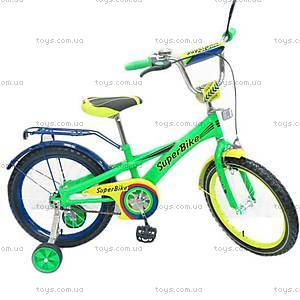 Велосипед Super Bike 2-х колесный, 141606-G