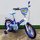 "Велосипед TILLY «Авіатор» 18"" blue + white, T-218210, купить"