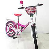 "Велосипед TILLY «Автоледи» 20"" (crimson + white), T-22028"
