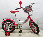 Велосипед TILLY Автоледи white + crimson, T-21422