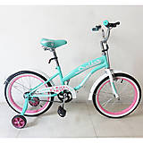 "Велосипед TILLY CRUISER 18"" T-21832 Turquoise + Pink, T-21832"