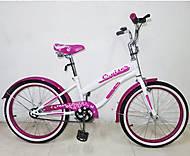 "Велосипед TILLY CRUISER 20"" T-22033 White + Crimson, T-22033, купить"