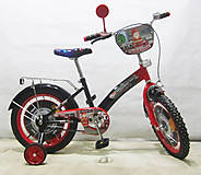 Велосипед TILLY Пожарник black + red, T-21627, купить