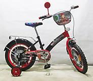 Велосипед TILLY Пожарник black + red, T-21627