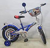 Велосипед TILLY Полицейский blue + white, T-21425