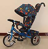 Велосипед TILLY Trike голубой цвет, T-344-3ГОЛУБОЙ, цена