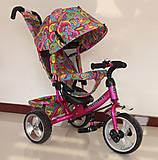 Велосипед TILLY Trike малиновый, T-344-2МАЛИНОВЫЙ, отзывы