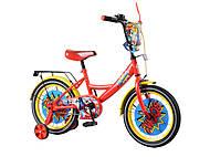 Детский велосипед 16 дюймов «TILLY Wonder», красно-жёлтый , T-216219, отзывы