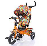 Велосипед трехколесный оранжевый для деток, T-351-1, купить