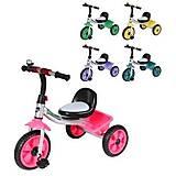 Велосипед трехколесный TILLY CAMPER 5 цветов, T-319 CAMPER, отзывы