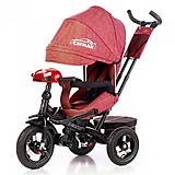 Велосипед трехколесный CAYMAN, красный, Т-3812 Красный, отзывы