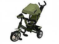 Велосипед трехколесный TILLY STORM, зеленый , T-349 Зеленый, купить
