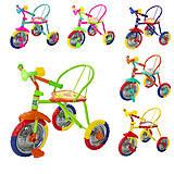 Велосипед трехколесный TILLY TRIKE, цвета в ассортименте, T-317, фото