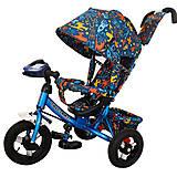Велосипед трехколесный TILLY Trike (голубой), T-363-3 Голубой, фото