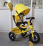 Велосипед трехколесный TILLY Trike, желтый, T-364 ЖЕЛТЫЙ, игрушка