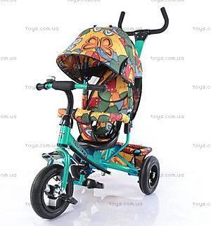 Велосипед трехколесный Tilly Trike, бирюзовый, T-351-7