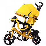 Велосипед трехколесный TRIKE Желтый, T-347, фото