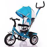 Велосипед трехколесный Trike, синий, T-361 СИНИЙ, фото