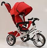 Велосипед трехколесный «Тилли» красный, T-343КРАСНЫЙ+БЕЛЫЙ, отзывы