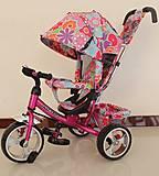 Велосипед трехколесный «Тилли» малиновый, T-344-1МАЛИНОВЫЙ, купить