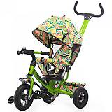Велосипед трехколесный зеленый, T-351-3, фото