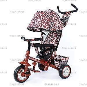 Велосипед трехколесный Zoo-Trike Brown, BT-CT-0005 BROWN