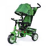 Трехколесный велосипед Zoo-Trike Green, BT-CT-0005 GREEN, магазин игрушек