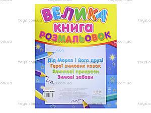 Большая книжка-раскраска «Новый год», К207016У, купить