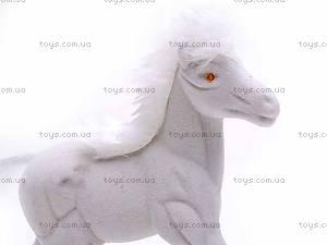 Велюровая детская лошадь, 325A, фото