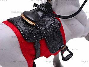 Велюровая детская лошадь, 325A, игрушки