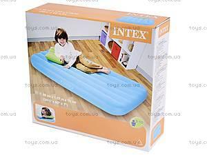 Велюровая кровать с подушкой, 66801