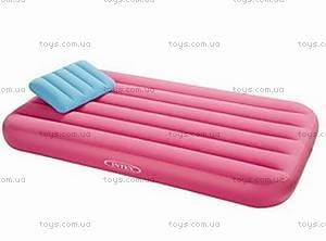 Велюровая кровать с подушкой, 66801, купить