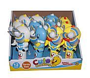Вентилятор ручной Утята, 8680A, детские игрушки