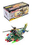 Вертолет военный игрушечный, 727B, детские игрушки